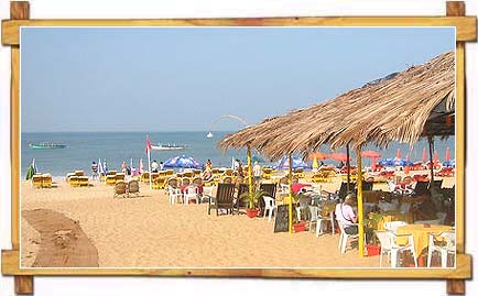 Baga Beach , Goa