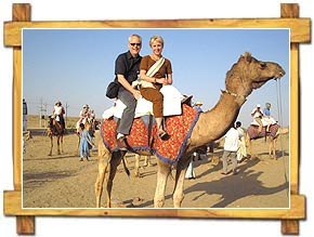 Camel Ride in Bikaner