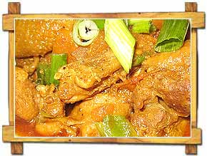 Chicken Curry Himalayan cuisine