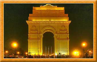 India Gate Night View