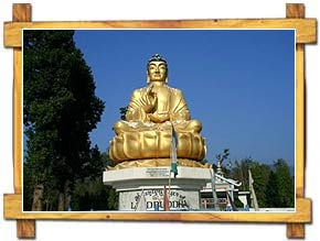 Lord Buddha near his Birthplace in Lumbini
