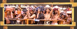 Devotees at  Sabarimala Temple