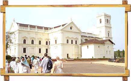 Se Cathedral , Old Goa
