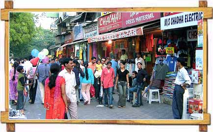 Shopping in Delhi Sarojini Nagar