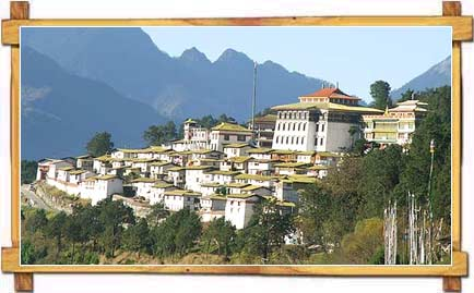 The Famous Tawang Monastery