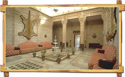 A room inside Umaid Bhavan Palace