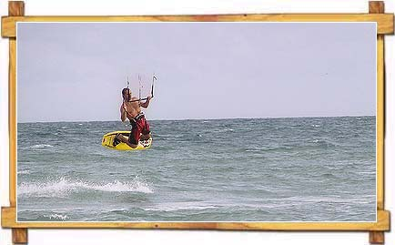 Water Skiing at Calangute Beach , Goa